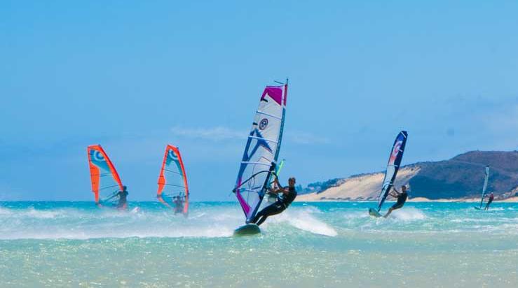 Fuerteventura windsurfing